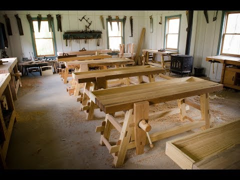 Announcing our 2019 Traditional Woodworking Classes!