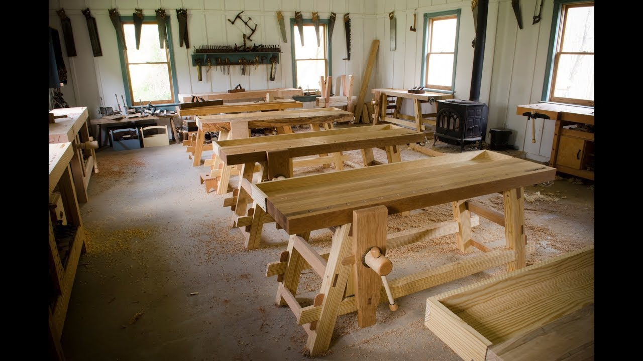 Announcing Our 2019 Traditional Woodworking Classes Youtube