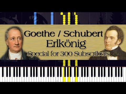 Goethe / Schubert - Erlkönig (Special for 300 Subscribers) | Piano Tutorial