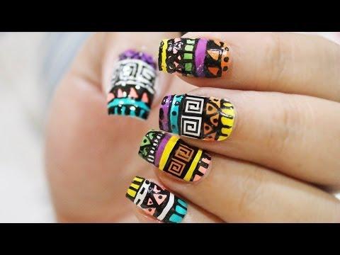 Aztec Nailart : Quick & Easy !