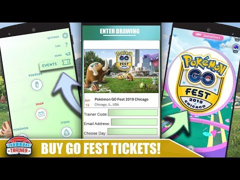 HOW TO BUY TICKETS FOR 2019 GO FEST! NEW SYSTEM TO PREVENT SCALPERS FROM BUYING | POKEMON GO