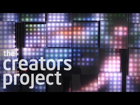 Jim Campbell's Sculptural LED Light Installations