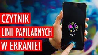 Smartfon z Czytnikiem Linii Papilarnych Wbudowanym w Ekran!