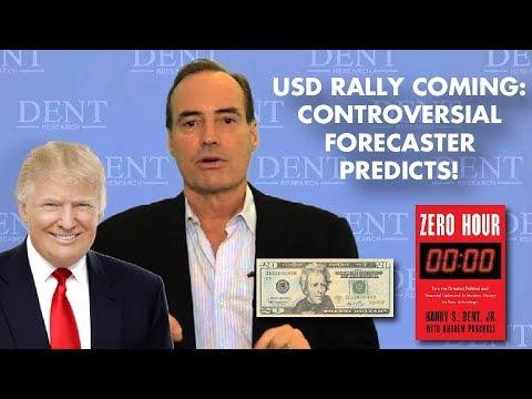 Harry Dent: Higher USD, Triple-Digit Gold: DEFLATION, DEFLATION, CRASH!
