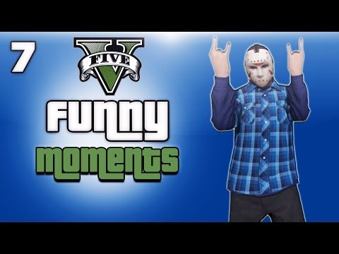 GTA 5 Online Funny Moments Ep. 7 (Stopping...