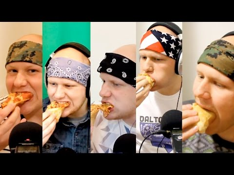 [ASMR] Pizza, Soda, And Stories With Dalton 1-5 Compilation (Enhanced Audio)