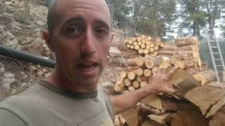 Firewood: Why I Won't Buy A Splitter, Won't Split My Wood,  Or Use Kindling