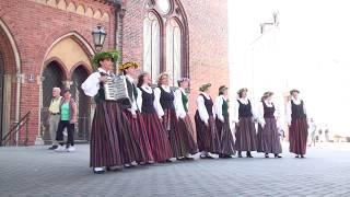 00051 Vokālo ansambļu ielu koncerts Doma laukumā 7.07.2018