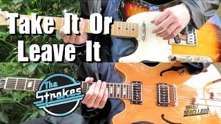 Take It Or Leave It - The Strokes ( Guitar Tab Tutorial & Cover )