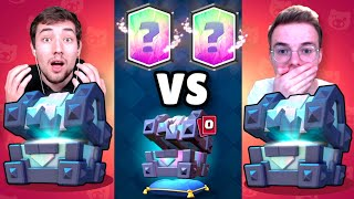13x LEGENDARY in 100€ LEGENDARY KINGS CHEST OPENING BATTLE! | Clash Royale