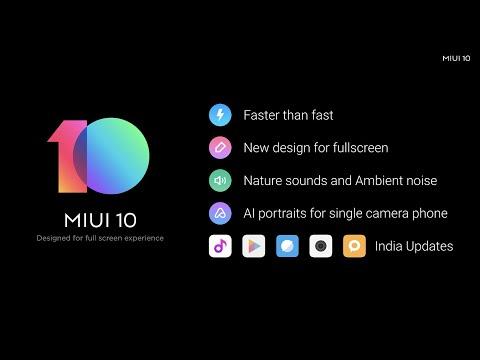 Miui 10 Global Launch Event || miui 10 update || miui new update || xiaomi || mi india