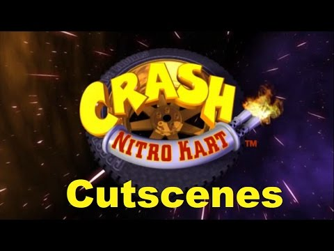 Crash Nitro Kart Cutscenes (Deutsch/German)