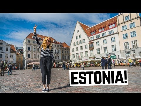 TALLINN CITY GUIDE - Delicious Pancakes, Insane Views of Old Town & Epic Swing Fail!