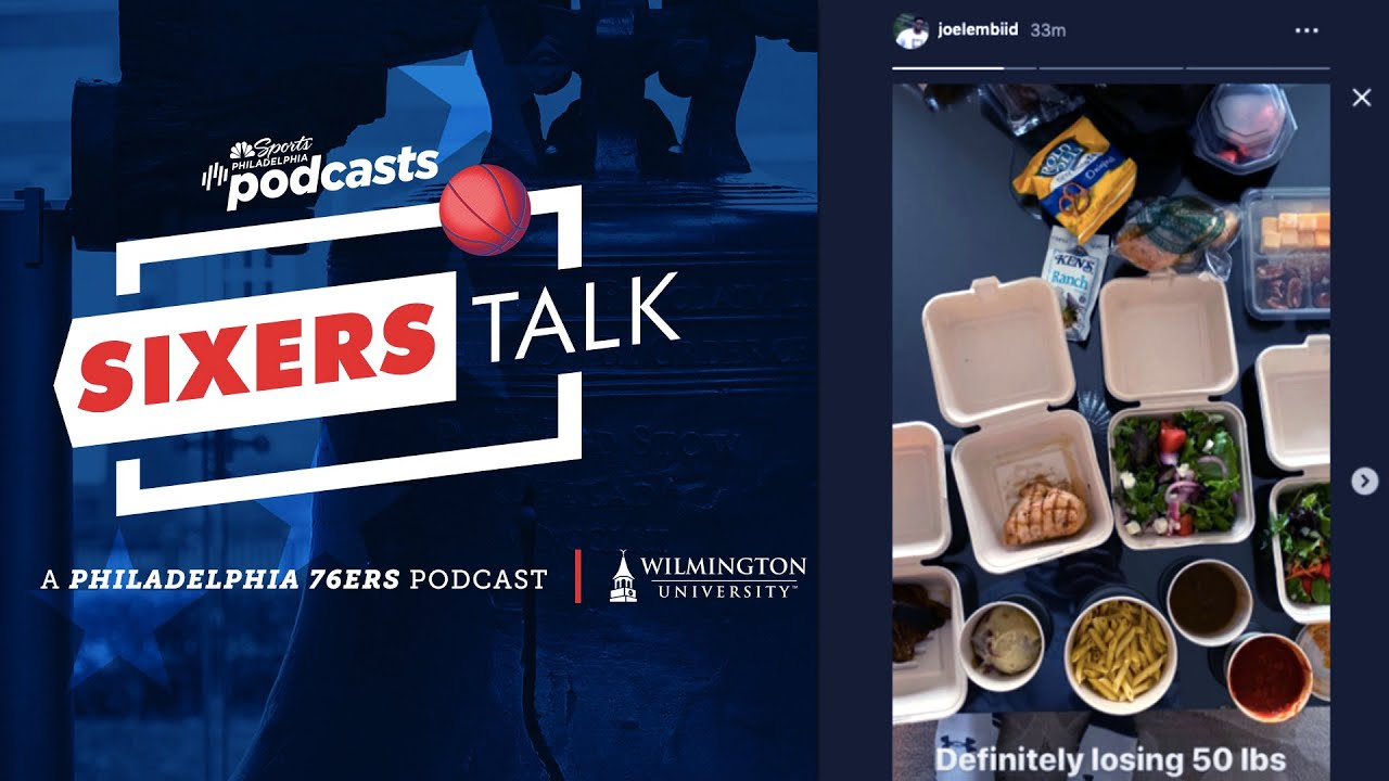 Quarantine food and Joel Embiid's hazmat suit | Sixers Talk | NBC Sports Philadelphia