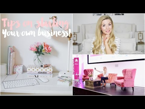 Tips for Starting Your Own Business & My Day at Workfest! ad | Dollybowbow