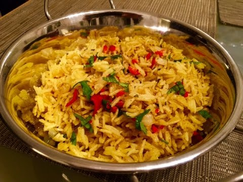 How To Make PILAU RICE (Restaurant Style) Al's Kitchen ...