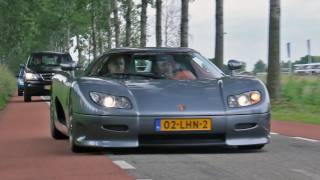 Koenigsegg CC8S - Brutal Sound !!! - 1080p HD