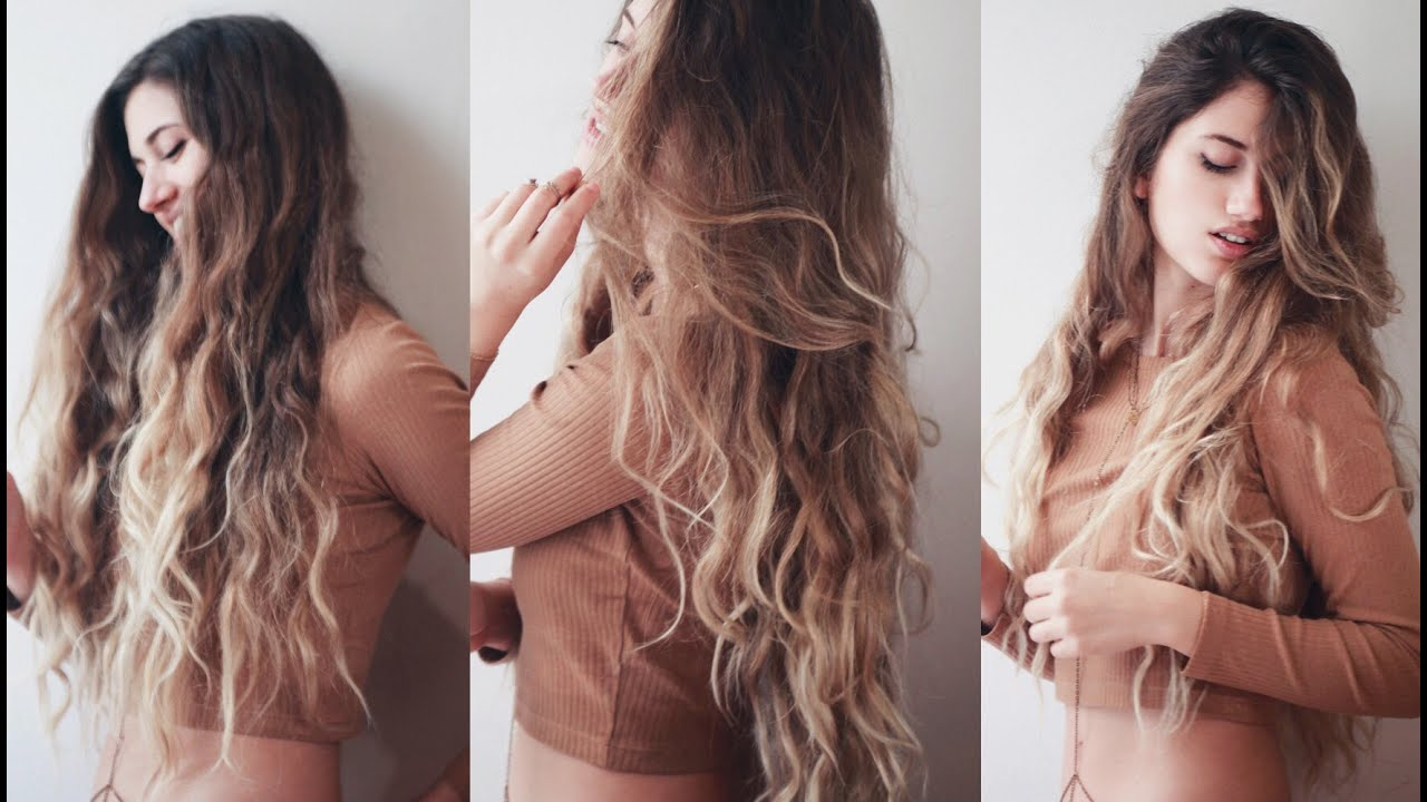 How To Get The Perfect Highlightombre Balayage Hair Tutorial