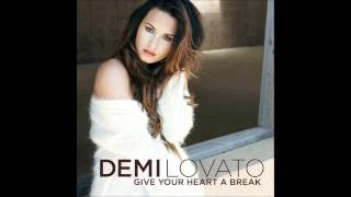 Demi Lovato - Give Your Heart a Break Karaoke / Instrumental with backing vocals and lyrics