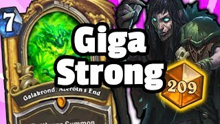 Galakrond Zoo Warlock Is Acutally GigaStrong - Top 200 Legend - Hearthstone Descent Of Dragons