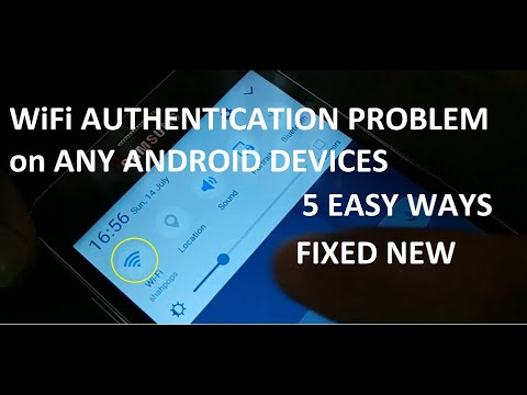 How To Fix WiFi Authentication Problem On All Android Devices, 5 Ways 2019