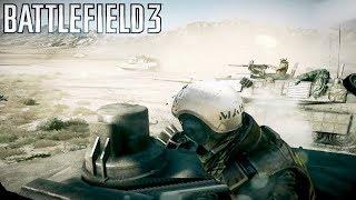Battlefield 3 Thunder Run Mission 7  [ Tank Mission ultra 60fps]