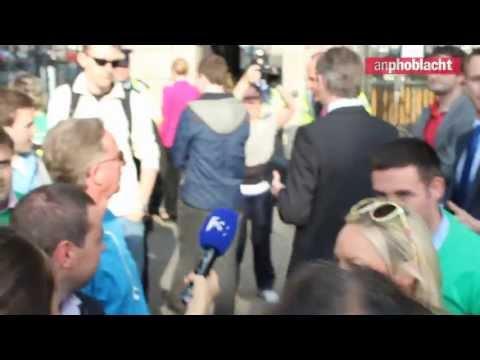Angry teachers and parents demand Fianna Fáil hypocrites leave education protest