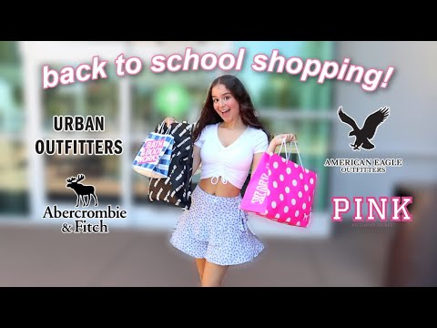 back to school clothes shopping vlog! 2020