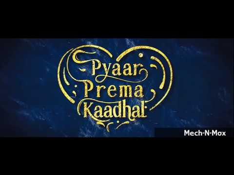 High On Love - Single | Pyaar Prema Kaadhal | Yuvan Shankar Raja | Sid Sriram | Niranjan Bharathi
