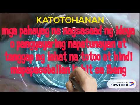 OPINYON O KATOTOHANAN (NEW)