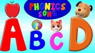 Phonétique chanson | éducation pour enfants | comptines | Apprendre l'alphabet | Phonics Song