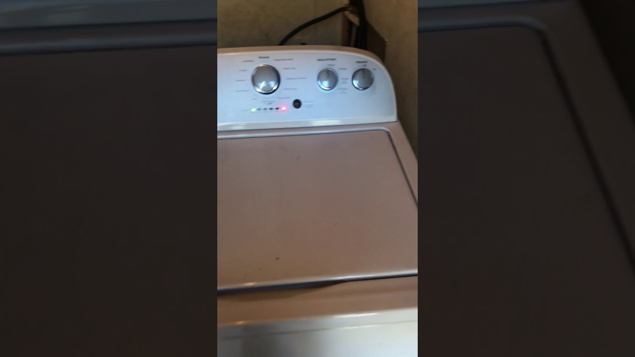 Whirlpool Washer Will Not Pass Sensing Cycle Youtube