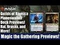 MTG Guilds of Ravnica Planeswalker Deck Previews: Ral, Vraska, and More