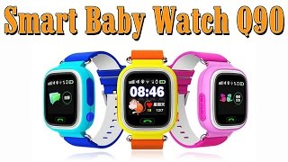 ДЕТСКИЕ УМНЫЕ ЧАСЫ ТЕЛЕФОН Q90 - Smart Baby Watch Q90 - Aliexpress(, 2016-11-11T08:00:03.000Z)