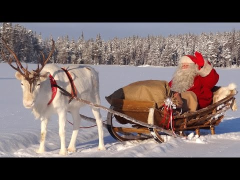 Best of Santa Claus video messages to children Father Christmas Lapland Finland Rovaniemi reindeer