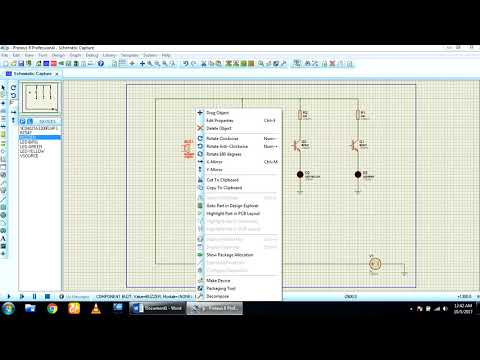 How to make Water level indicator circuit in proteus software