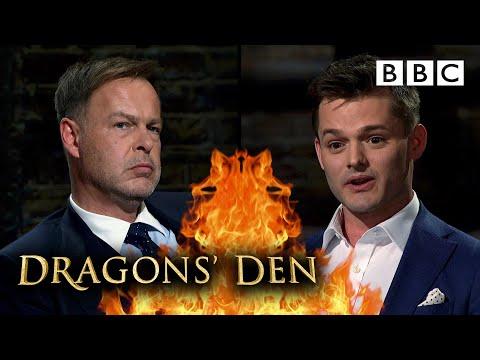 Advertising entrepreneur can't believe Dragons' last minute turnaround!   Dragons' Den - BBC