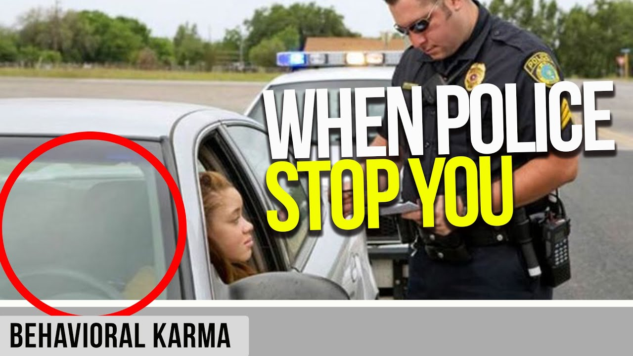What to Do When Police Pull You Over   6 Steps