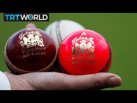 First day-night test match: New pink cricket balls