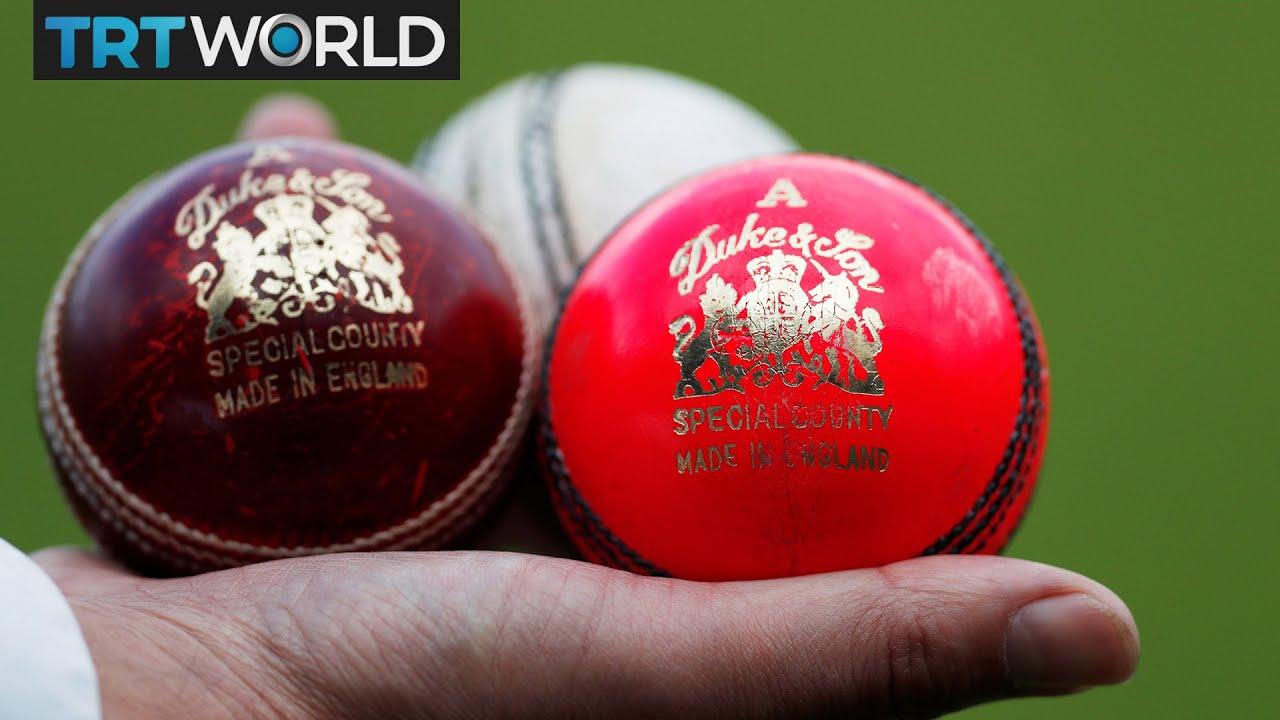 First Day Night Test Match New Pink Cricket Balls