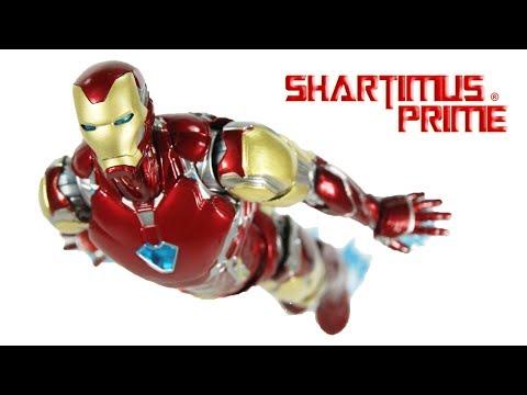 SH Figuarts Iron Man Mark 85 Avengers Endgame 6 Inch Marvel Studios Action Figure Toy Review