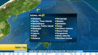 Tropical Storm Glenda to make landfall in Virac, Catanduanes tomorrow