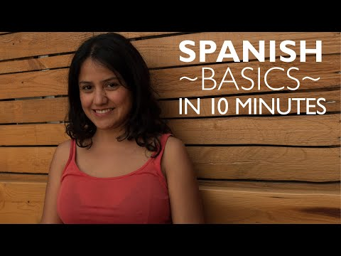 Learn ALL the Basics in Spanish: Spanish Level 1