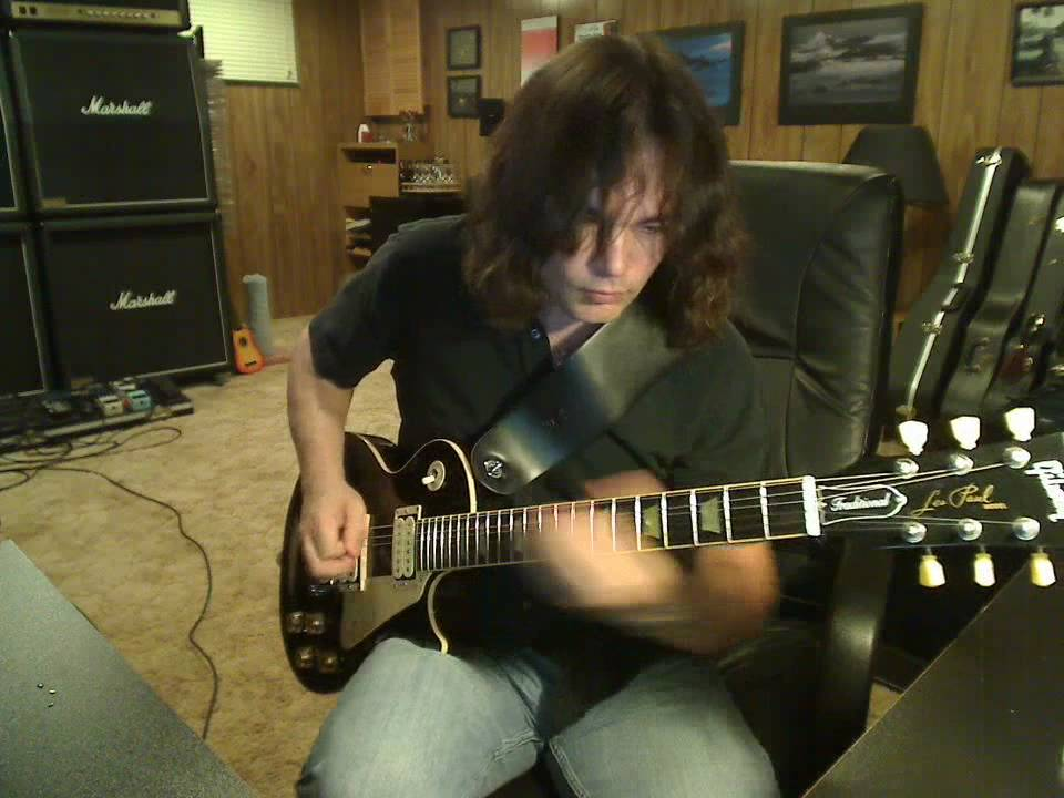 Les Paul With High Output Humbuckers In Single Coil Mode Youtube