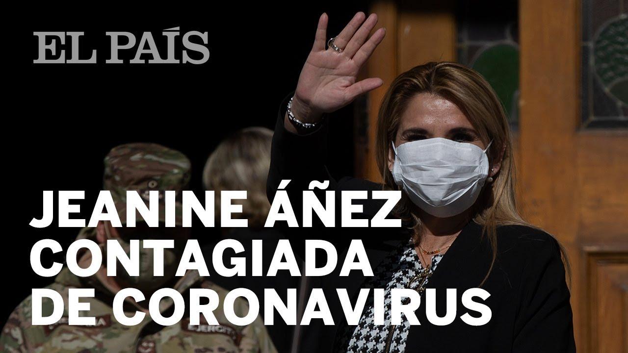La presidenta interina de Bolivia, Jeanine Áñez, se contagia de ...