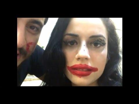 Kısmetse olur Batuhan Nur'a makyaj yapıyor (Nur Joker oldu😂😂) (YENİ)
