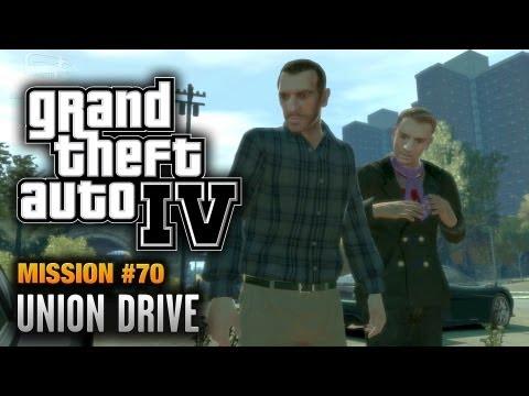 GTA 4 - Mission #70 - Union Drive (1080p)