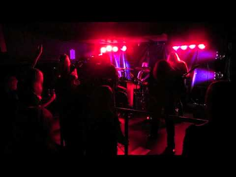 Denial Of God - Robbing The Grave Of Priest -live @ Turun Klubi 29.8.2013