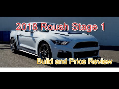 2018 Roush Mustang Stage 1 Eco Boost - Build and Price Review - Roush  Performance