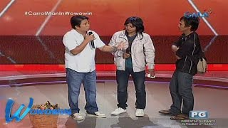 "Wowowin: ""Carrot man"" pag-aaralin ni Willie Revillame"